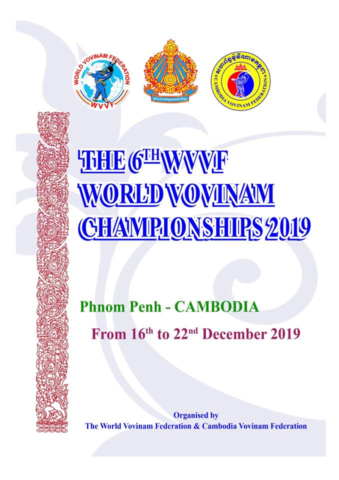 6th WVVF World Vovinam Championships 2019 Phnom Penh