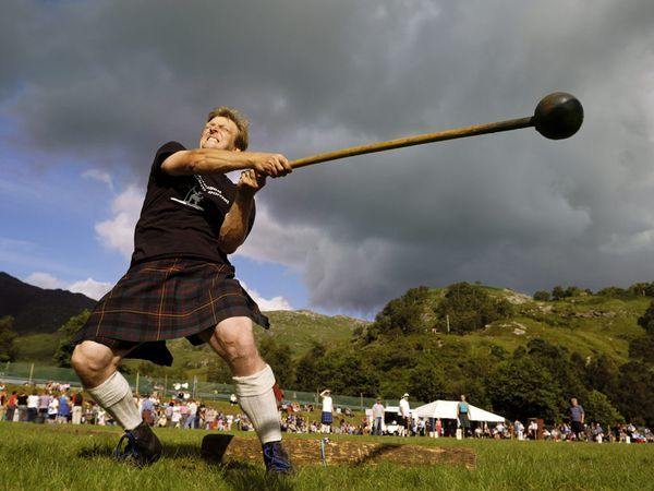 Traditional sport of Scotland