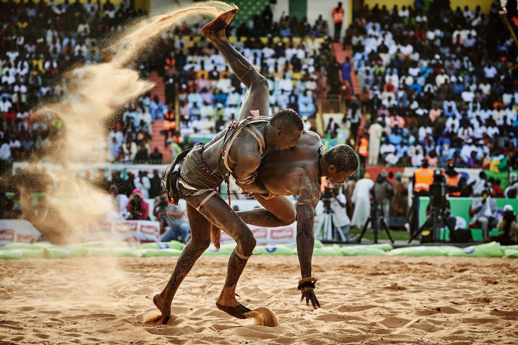How Senegalese Wrestling Became a Modern Martial Arts
