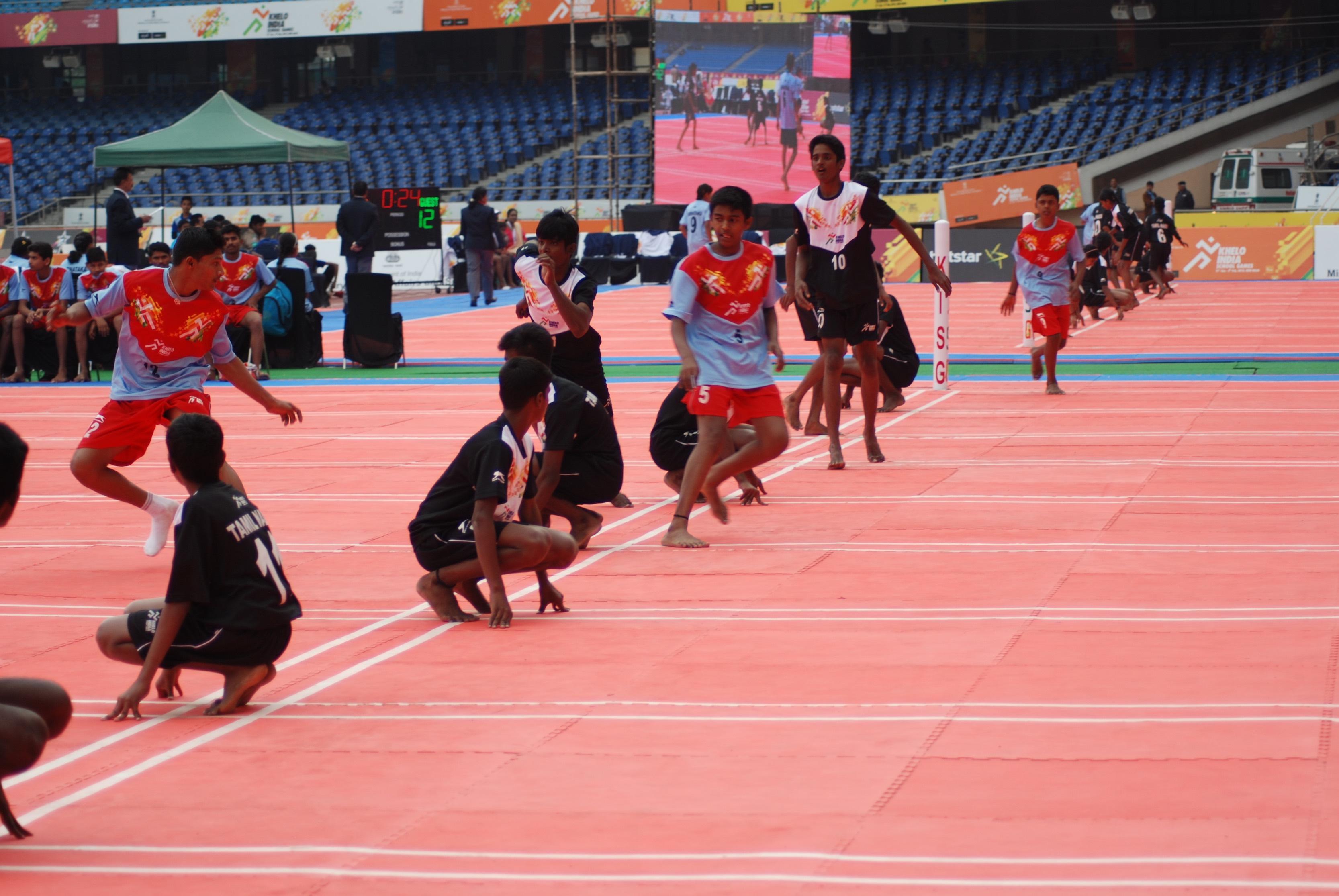Kho Kho (India) - Traditional Sports